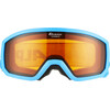 Alpina Scarabeo Doubleflex S2 goggles Kinderen turquoise